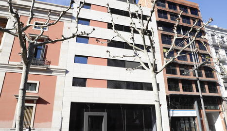 Imatge del nou edifici.
