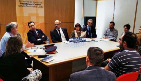 La reunió es va fer ahir a la tarda.