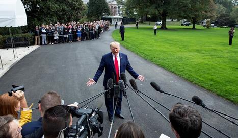 Trump es presentava al discurs de l'Estat de la Nació confiat en la seua absolució en l''impeachment'.