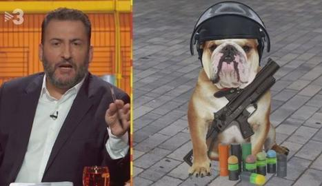 La fiscalia denuncia per injúries Toni Soler per un gag de TV3 sobre els Mossos