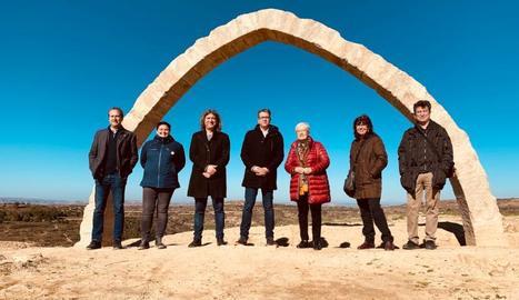 Noves intervencions després de reconstruir l'Arc d'Adar de Llardecans