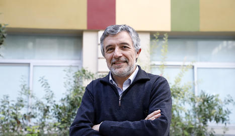 Miquel Aran, gerent del Parc Científic de Lleida
