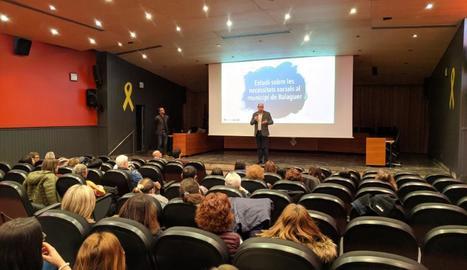 Presentació de l'informe de necessitats socials a Balaguer.