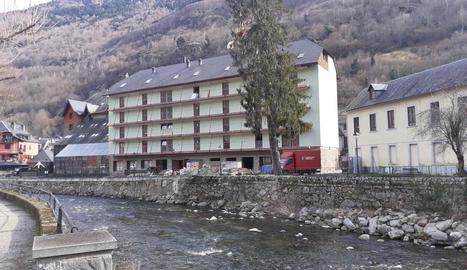 L'edifici que acollirà la residència geriàtrica del Baish Aran.