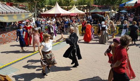 Una de les últimes edicions de la festa medieval Harpia.