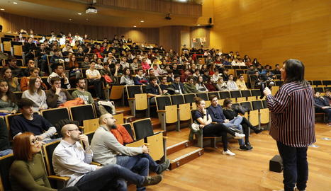 Jornada de portes obertes a la UdL amb 1.800 alumnes d'instituts