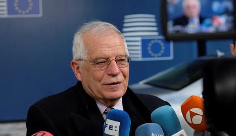 L'alt representant de la Unió Europea (UE) per a Afers Exteriors, Josep Borrell.