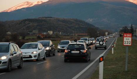 Ábalos es compromet amb ERC a millorar les condicions del tram lleidatà de l'N-260