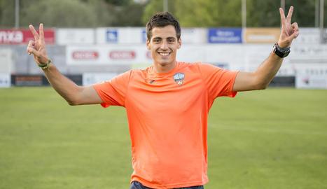 Nacho Torre, preparador físic del Lleida que s'ha desvinculat del club.