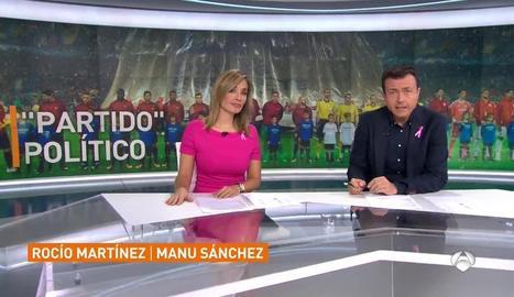 Manu Sánchez i Rocío Martínez.