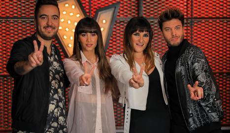 Beret, Aitana, Rozalén i Blas Cantó seran els nous assessors de 'La Voz Kids'.