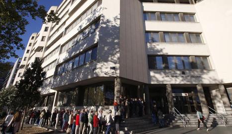 Imatge d'arxiu d'un jutjat de Madrid.