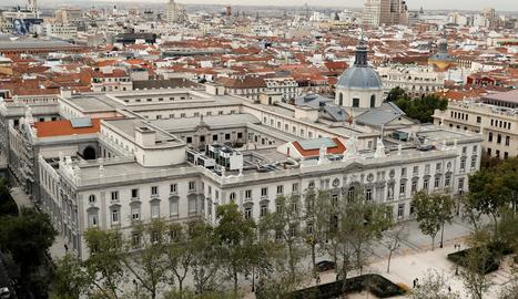 L'edifici del Tribunal Suprem.