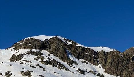 Imatge d'esquiadors a l'estació de Tavascan.
