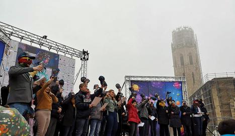 Més de 6.000 persones es 'posen la Gorra' a la Seu Vella