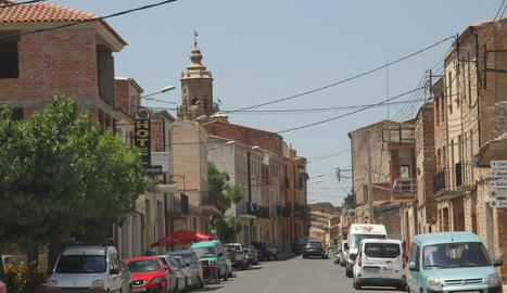 Imatge d'arxiu d'un carrer de la localitat de la Granadella.