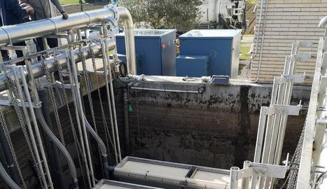 L'ACA incrementa la capacitat de tractament de la depuradora d'Alcarràs