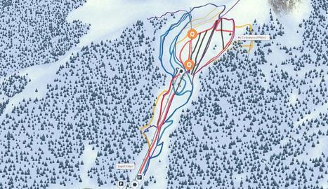 Les estacions d'esquí del Pirineu estrenen mapes en 3D