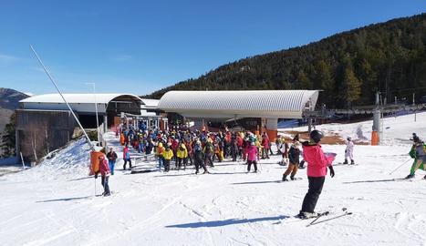L'estació de Port Ainé va registrar una de les millors afluències de tot l'hivern.
