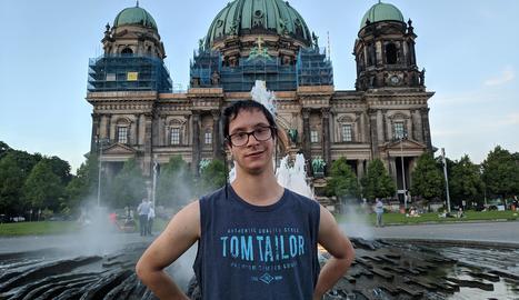 Toni Guerrero va cursar les pràctiques en una acadèmia d'idiomes de Wernigerode.