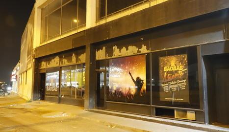 La discoteca Baobab, ubicada a l'Ll-11.