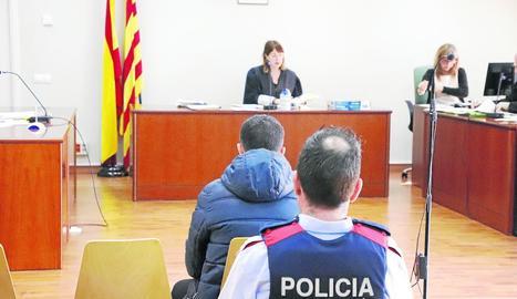 El judici es va celebrar ahir al migdia al jutjat penal 3 de Lleida.