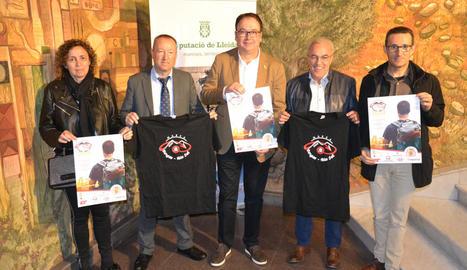 La quarta edició de la prova es va presentar ahir a la sala de premsa de la Diputació.