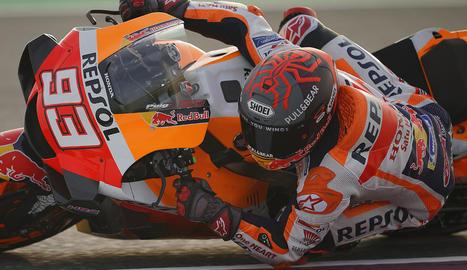 Márquez va utilitzar peces de la moto del 2019 per buscar solucions als problemes de la seua Honda.