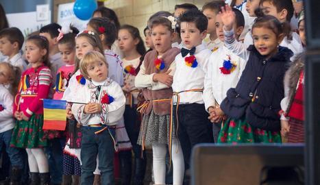 Imatge d'arxiu de la festa nacional de Romania a Guissona.