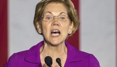 La senadora Elizabeth Warren.