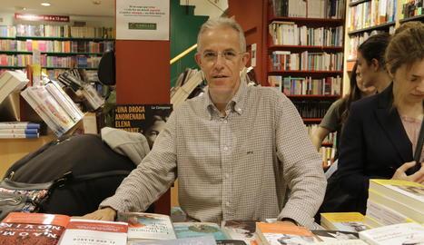 Jordi Caselles, responsable de la Llibreria Caselles.