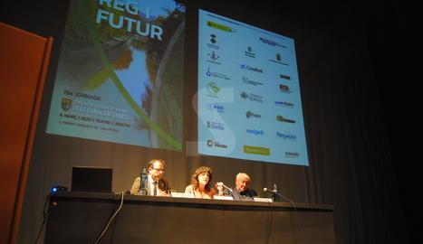La consellera Teresa Jordà ha tancat la 19a jornada 'Reg i Futur' a Mollerussa.