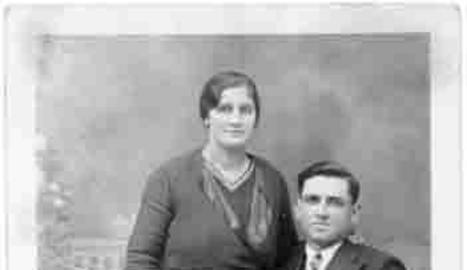 Generosa i el seu marit.