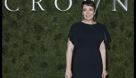 Olivia Colman, en la presentació de la tercera temporada, continuarà encarnant Isabel II a la quarta.