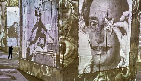 Una pedrera abandonada a França projecta el millor art de Dalí