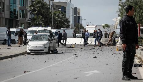 Un mort en un atac terrorista a l'ambaixada dels EUA a Tunísia
