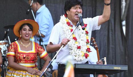 Morales continuarà sent candidat al Senat