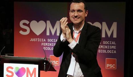 Òscar Ordeig és reelegit primer secretari del PSC a les comarques de Lleida, Pirineu i Aran