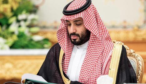 Imatge d'arxiu del príncep hereu de l'Aràbia Saudita, Mohamed bin Salman.