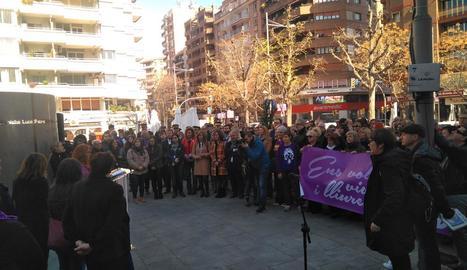 Lleida reclama la plena igualtat de les dones