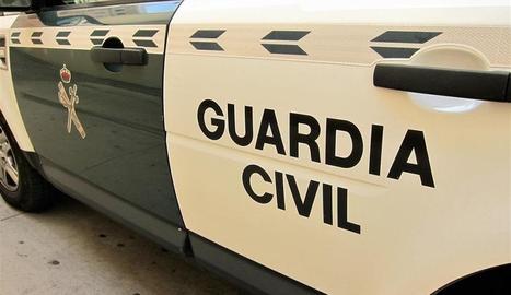 La Guàrdia Civil va detenir tres homes per agredir una menor.