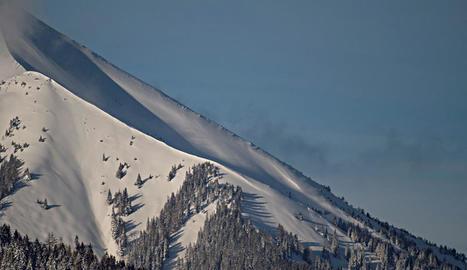 Imatge d'arxiu d'un pendent d'una muntanya als Alps.