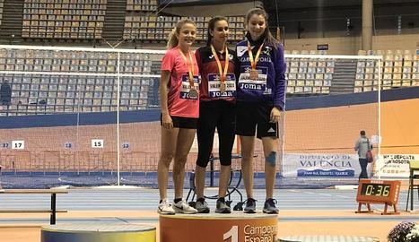 Erika Robleda, de la JA Arbeca, plata en el Campionat d'Espanya sub-18