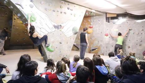 Gómez i Segura guanyen l'Open d'escalada