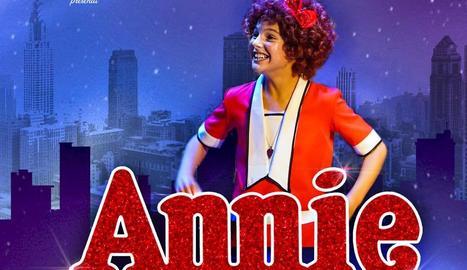 El musical 'Annie' arriba al Teatre de la Llotja de Lleida després de triomfar a Broadway.