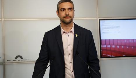 El diputat d'ERC al Parlament i alcalde d'Agramunt, Bernat Solé.