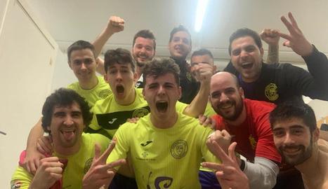 El Novadmin Futsal Lleida B va guanyar a la pista de l'Alforja.