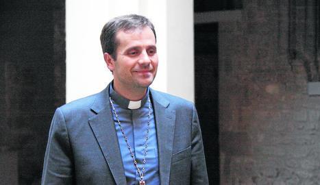 El bisbe Xavier Novell.
