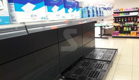 Allau de compres de paper higiènic