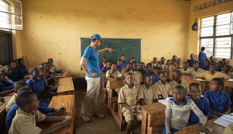 Jesús Vázquez explica Ruanda